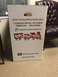 Trollinger Law LLC Participates with Toys for Tots