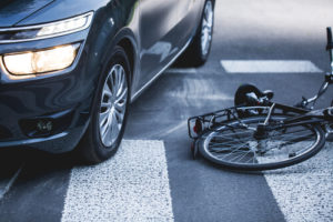 bicycle accident in Waldorf