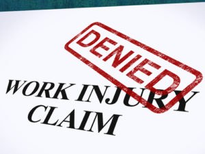 Appealing a Denied Workers' Compensation Claim
